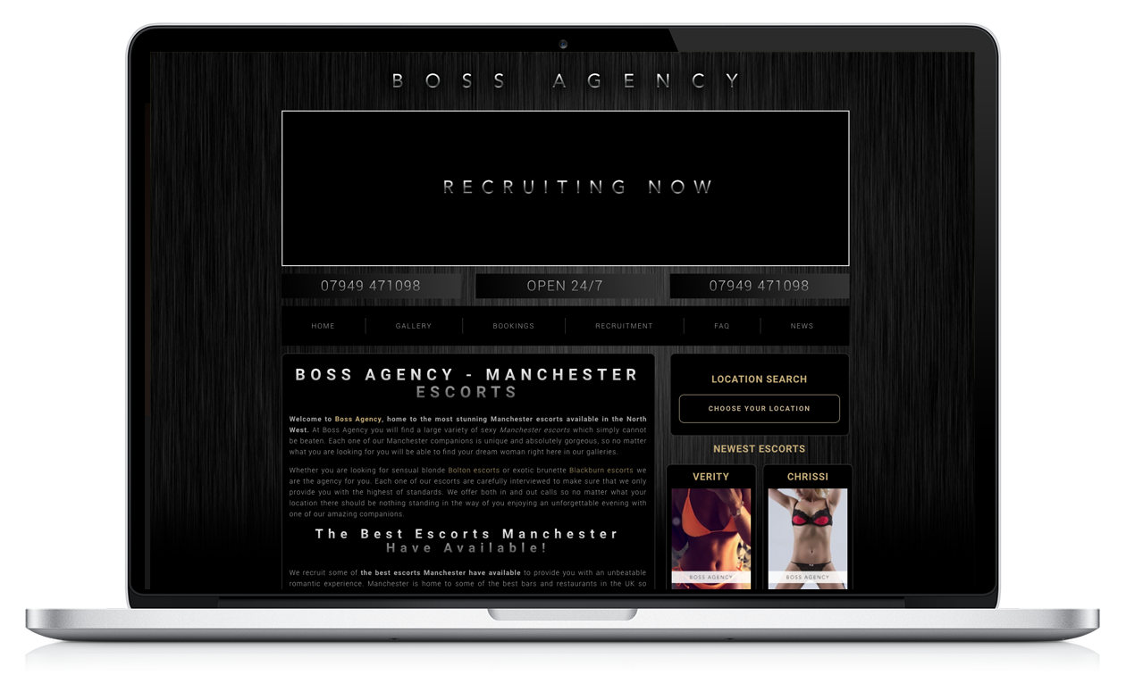 Boss Agency - Website