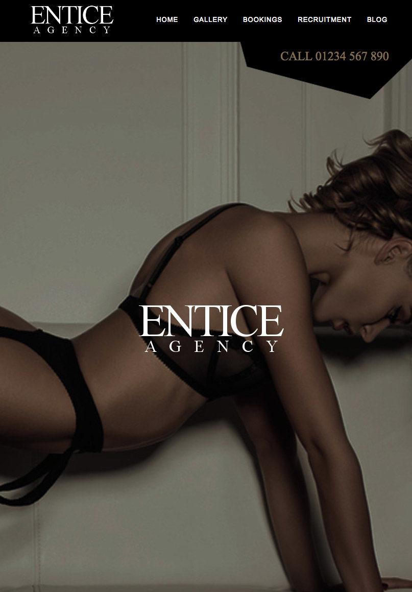 Entice Agency - Website Template