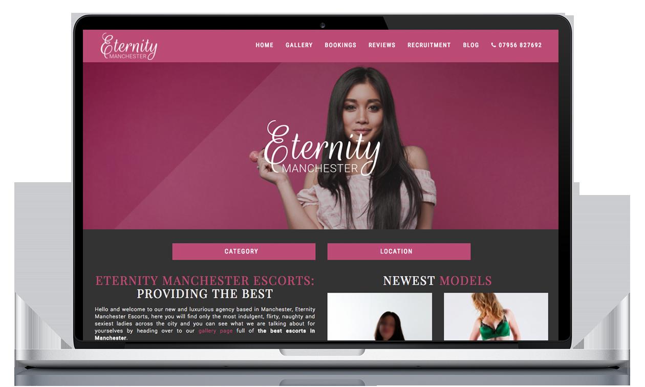 Eternity Manchester - Website