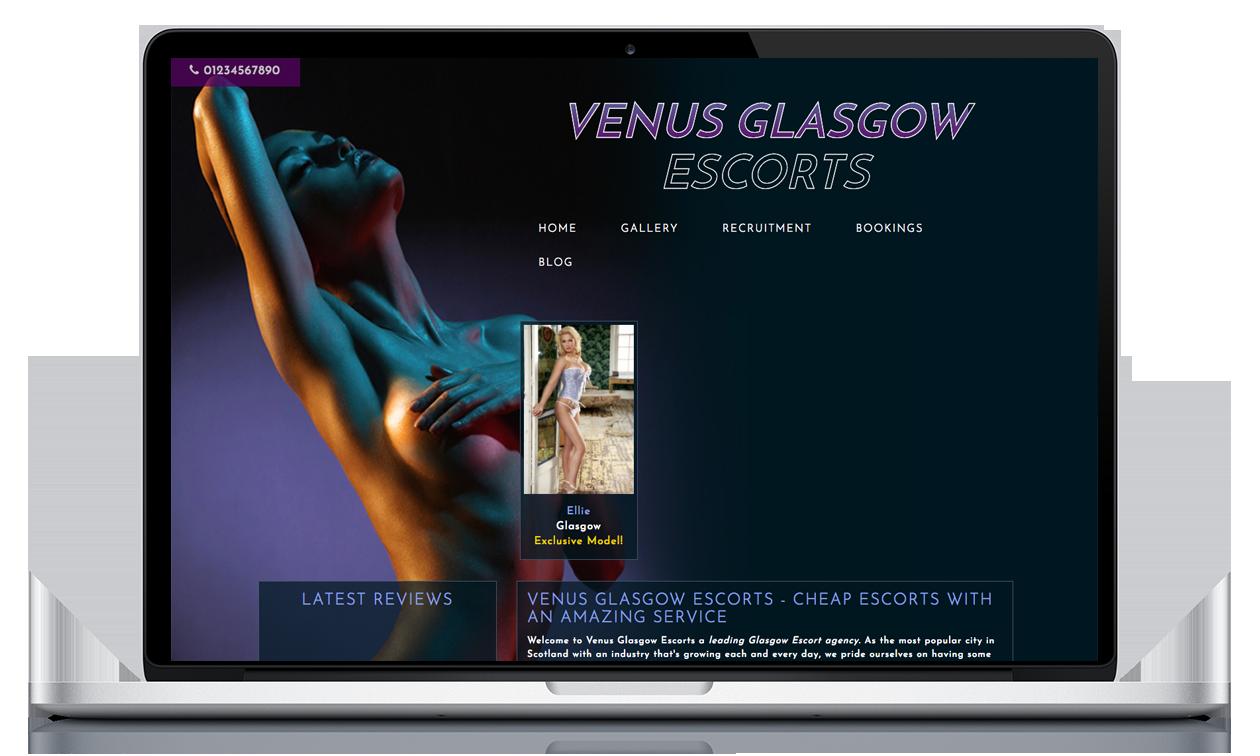 Venus Glasgow - Website