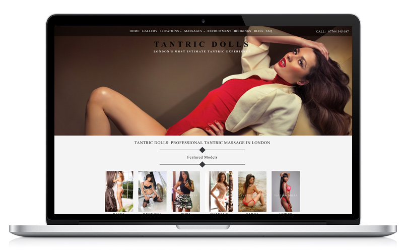Tantric Dolls - Website